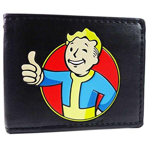 Bethesda Fallout 4 Vault Boy Thumbs Up Nero portafoglio