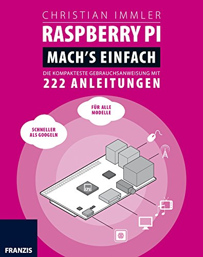 Raspberry Pi für Maker. Mach's einfach!: DIE KOMPAKTESTE GEBRAUCHSANWEISUNG MIT 222 ANLEITUNGEN (Professional Series) -