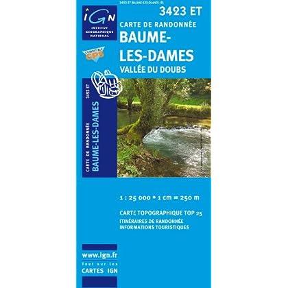 Baume-les-Dames/Vallee de Doubs GPS: IGN.3423ET