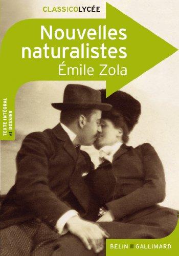 Nouvelles naturalistes par Émile Zola
