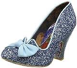 Irregular Choice Women's Nick of Time Closed-Toe Heels, Blue (Pale Blue), 4 UK 37 EU