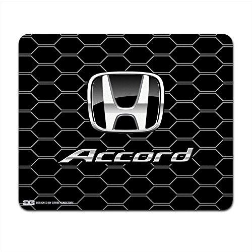 honda-accord-noir-logo-grille-nid-dabeille-ordinateur-tapis-de-souris
