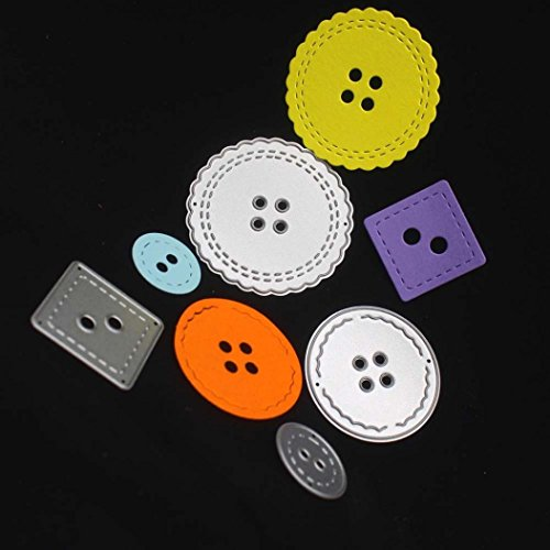 Stanz-Set, rameng Schnitt die Scrapbooking Schnitt aus Metall DIY Basteln Handwerk, mehrfarbig (Die Schnitt-schablonen)