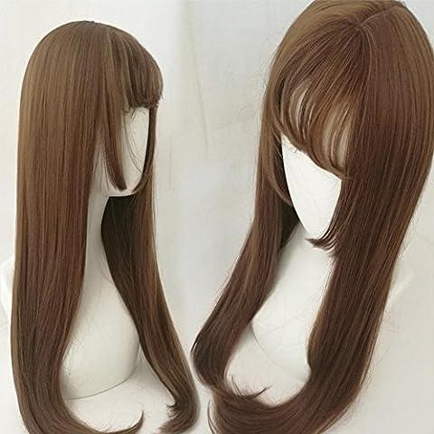 Costume Medusa Cheveux - Perruques cheveux longs cheveux lisses la tête