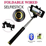 Extendable Folding Wired Selfie Stick (B...