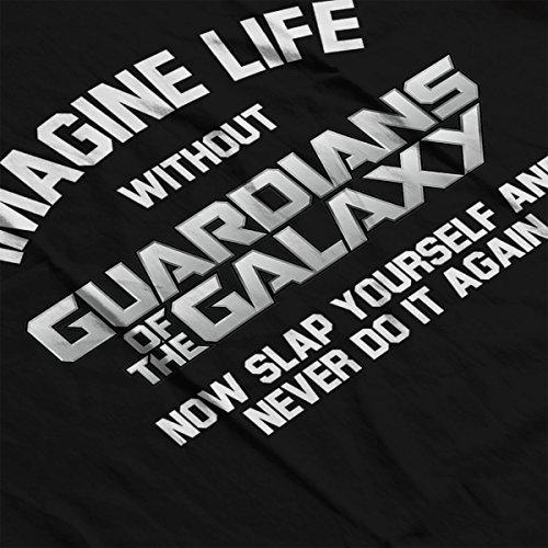 Imagine Life Without Guardians of the Galaxy Men's T-Shirt Black