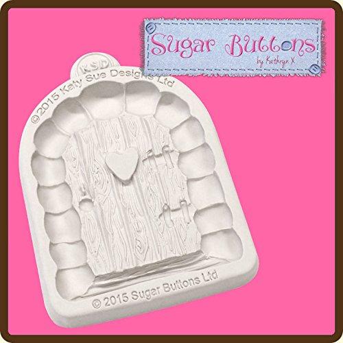 katy-sue-designs-stampo-in-silicone-raffigurante-una-porta-per-decorazione-di-torte-cupcake-pasta-di