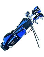 Longridge JUP13GR - Paquete de golf con 7 palos para niños más de 13 años