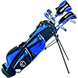 Longridge GOLF PACKAGE CHALLENGER CADET BOYS PACKAGE, BLACK/NAVY