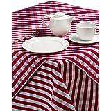 Catering aparato superstore–CE464Palmar guinga funda de gamuza, color rojo y blanco
