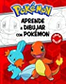 Aprende A Dibujar Con Pokémon (POKEMON) de Montena