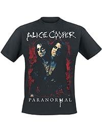 Alice Cooper Paranormal Splatter T-shirt noir
