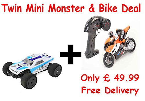 KickFlip-Mini-Monster-Truck-and-a-RC-Bike-Combo