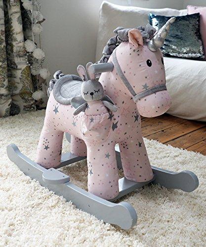 Little Bird Told Me - Celeste & Fae - Infant Unicorn Rocking Horse