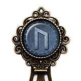 Viking Runes Elder Futhark Rune Circle U Uruz Power Leistung Wikinger Runen Lesezeichen