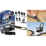 Kit De 6 Zippers Réparation Pour Fermeture Eclair Fix A Zipper Vêtements Sac Etc