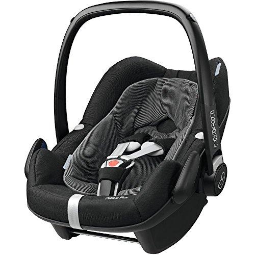 Preisvergleich Produktbild Maxi Cosi 79808950 Pebble Plus Kindersitz, schwarz