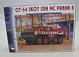 Modellbau Kunststoff Modellbausatz SDV 1:87 H0 Feuerwehrfahrzeug OT 64 Skot SDH MC Praha 8 Fahrzeuge Feuerwehr Ostblock