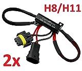 L&P B546 2 Stück H8 H11 CanBus Plug&Play Lastwiderstand Widerstand für LED SMD Lampen ohne Fehlermeldung