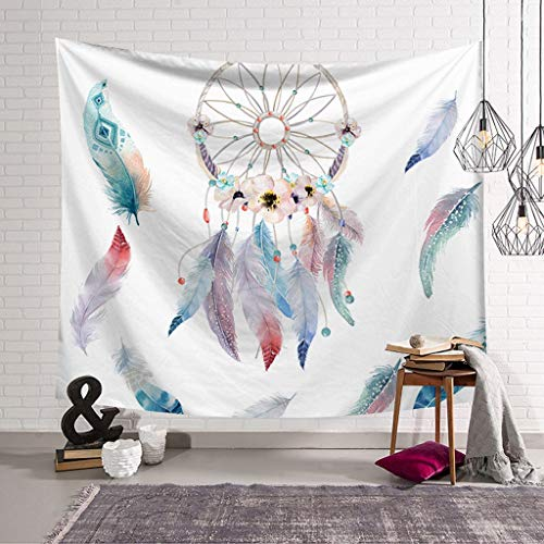 XHcloth Camera da Letto con arazzo Dreamcatcher Tapestry Wall Tapestry Dream Art Mural Telo Mare Addensare Decorazioni per la casa (Colore : D, Dimensioni : 150x130)