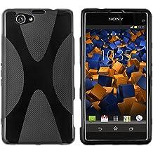Mumbi X TPU Case Sony Xperia Z1 compacto (receso para el cable de carga magnética disponible, no encaja con la estación de acoplamiento)