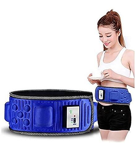 D&F Vibration Ceinture de massage électrique à courroie amaigrissante pour une perte de poids plus rapide et maximisez votre sueur pour hommes et femmes