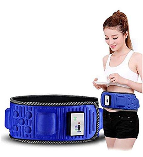 D&F Abdominal Cinturón eléctrica de la correa para una pérdida de peso más rápida y maximizar su sudor para hombres y mujeres