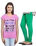 Indistar Women Cotton Top & Women Leggin...