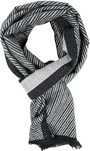 Sakkas 16128 - Kopa lungo Mid peso di seta molle Fringe Patterned Pashmina Scialle / sciarpa - bianco - OS