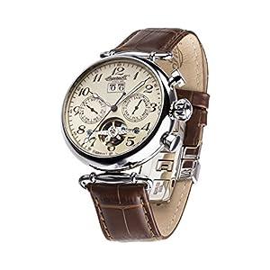 Ingersoll damen armbanduhr pream chronograph automatik edelstahl in7202mbk