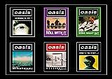 Sconosciuto Oasis Tutti Album & Tour Poster Stampa Noel Liam Gallagher Definitely Maybe 008 (A5-A4-A3) - A4