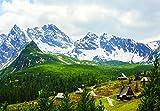 VLIESFOTOTAPETE FŰR DIE ECKE Fototapete Tapete Wandbild Vlies | Welt-der-Träume| Malerische Tatra Gebirge | VEEXXL (624cm. x 219cm.) | Photo Wallpaper Mural 10507VEEXXL-AW | Landschaft Natur Karpaten Berge Gebirge Tatra Wald