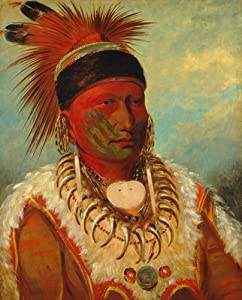 International Publishing 0801 N25071b - White Cloud, Chief of The Iowa, clásica Puzzles