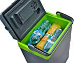 MALATEC Elektrische 16/22 L Auto Kühlbox Wärmebox Campingbox 12V Kühlschrank #5230, Größe:22L