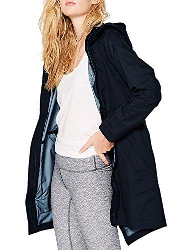 Blooming Jelly Femmes Blouson Manteaux Imperméables Veste Capuche Casual Manche Longue Manteau Solide Léger Veste avec des poches