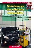 Image de Maintenance des véhicules automobiles 1re Bac Pro