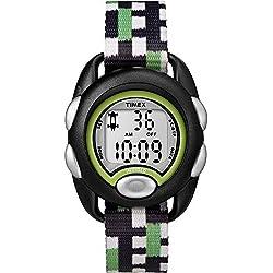 Timex Youth Digital Chronograph Black Strap Kids Watch TW7C13000