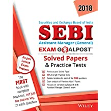 Wiley's SEBI Assistant Manager (General) Exam Goalpost Solved Papers and Practice Tests