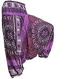 PANASIAM Aladin Pants, Design-Style: Maoi 01, Violette