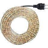 15m Lichtschlauch Set mit Glühlampen