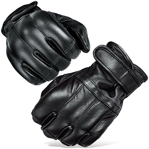 Black Snake Herren Quarzsandhandschuhe Quarzsand Handschuhe S-XXL Defender in schwarz Security Schwarz XXL