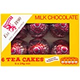 El Tunnock Tea Cakes Milk Chocolate 6 x 24g