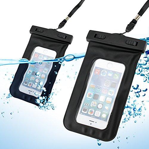 gearonic schwarz Wasserdichte Beutel Displayschutzfolie Skin Schutzhülle w/Arm Band für iPhone 44S 55S Galaxy S4S5 Iphone Mobile-skin