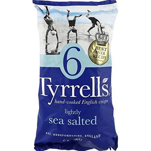 Tyrrell'S - Chips Nature Lightly Sea Salted - 150G - Livraison Gratuite Pour Les Commandes En France - Prix Par Unité
