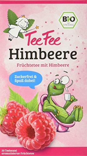 TeeFee Bio Früchtetee mit Himbeere, 5er Pack (5x20...
