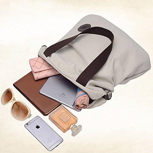 Borsa A Tracolla Da Donna Borsa A Tracolla Mutil Function Borsa A Tracolla Tote Handbag Blu