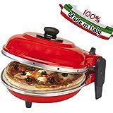 OPTIMA 2CXP3020 - Máquina para pizzas, color rojo