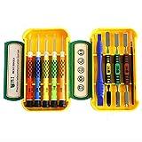 10 in 1 set di cacciaviti magnetici di precisione, kit di strumenti di riparazione elettronica per tablet, MacBook, PC, smartphone e altri dispositivi elettronici