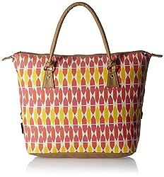 Kanvas Katha Women's Handbag (Ecru) (KKAC009)
