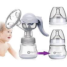 GGG Sacaleches manual bomba del pétalo con el pacificador / Botella de alimentación leche para bebé ,suave y cómodo
